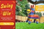 Mission Piñata Instant Win Game