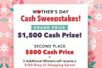 ShopLC Mother's Day Cash Sweepstakes