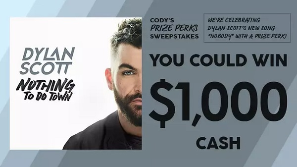 CMT Cody iHeartRadio Cash Sweepstakes 2020