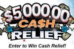Pch.com $5000 Cash Relief Sweepstakes