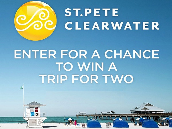 Visit St. Pete Clearwater Brighter Day Sweepstakes