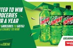 MTN DEW Year of Groceries Sweepstakes