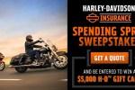 Harley Davidson Insurance Spending Spree Sweepstakes