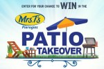 Mrs. T's Patio Takeover Sweepstakes
