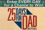 Popular Woodworking 25 Days for Dad Sweepstakes