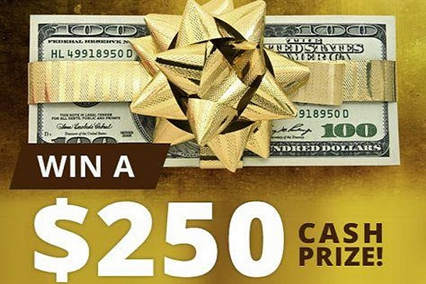 PrizeGrab $250 Cash Giveaway 2020