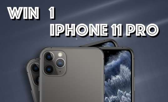 Free iPhone 11 Pro Giveaway 2020