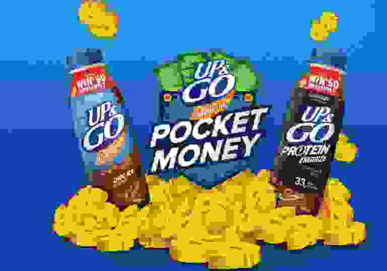 UP and GO Pocket Money Competition