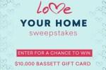 Bassett $10K Gift Card Sweepstakes