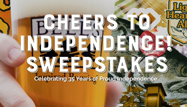 Bell's Cheers to Independence Sweepstakes (50 Winners)