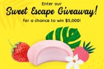 Bubbies Ice Cream Sweet Summer Escape Sweepstakes