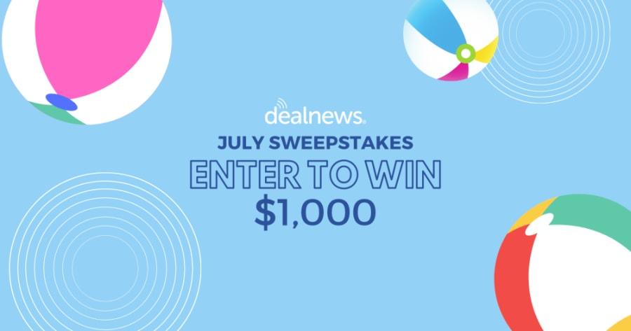 Dealnews Cash Sweepstakes 2020