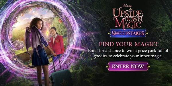 Disney Upside-down Magic Sweepstakes on Udmsweeps.com