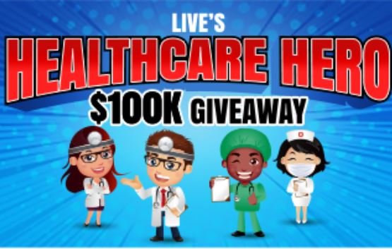 Live With Kelly and Ryan Healthcare Heroes 100K Giveaway