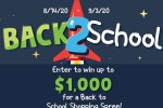 Back to School Sweepstakes 2020