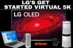 LG Virtual 5K Challenge sweepstakes