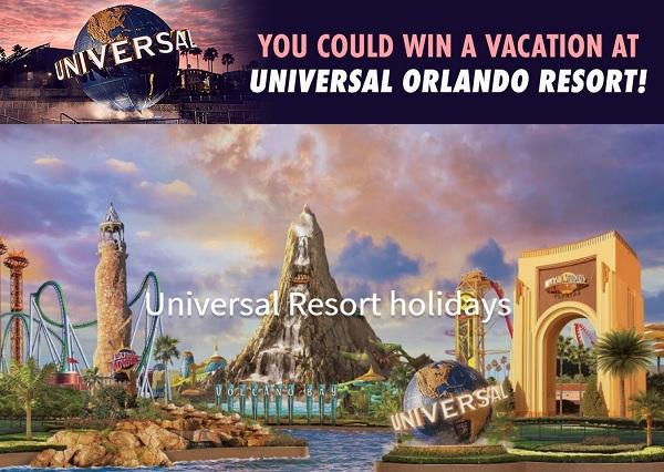 Nbc's Universal Orlando Resort Sweepstakes