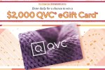 QVC $2000 Gift Card Giveaway
