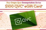 QVC $100 Gift Card Giveaway 2020