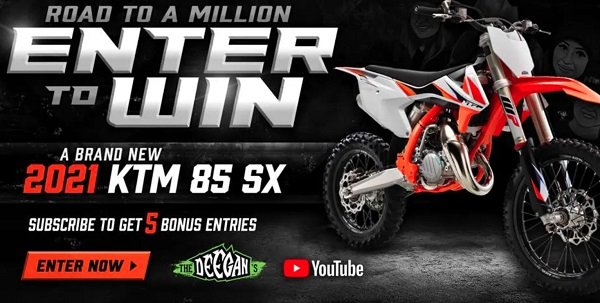 Shop Deegan Motorcycle Giveaway 2020