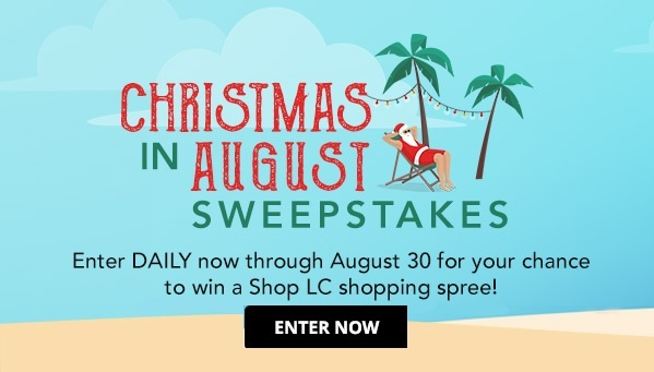 ShopLC Shopping Spree Sweepstakes 2020