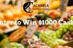 Acanela $1000 Cash Giveaway 2020