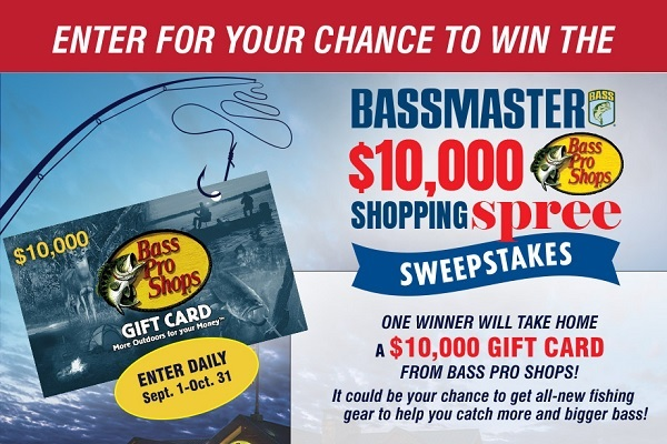 Bass Pro Shops Shopping Spree Sweepstakes 2020