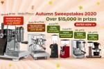 iDrinkcoffee Annual Autumn Sweepstakes 2020