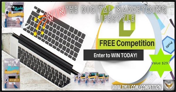 Digital Marketing Lifestyle Competition Giveaway Sweepstakes 2020