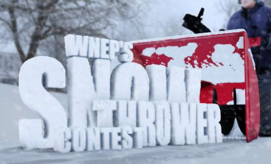 WNEP Snow Thrower Contest 2020