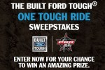 Ford One Tough Ride Sweepstakes 2020