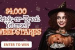 Frankly Media Halloween Sweepstakes 2020