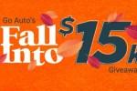 Go Auto's Fall Into $15k 2020 Contest