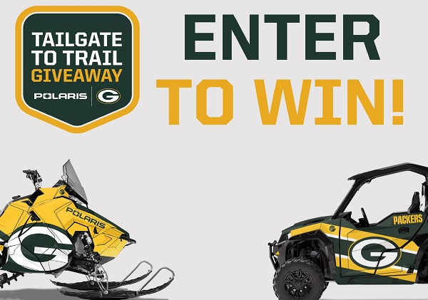 Green Bay Packers Polaris Sweepstakes 2020