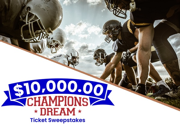 PCH $10000 Champions Dream Sweepstakes 2020