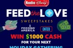 Radio Disney Feed the Love Sweepstakes