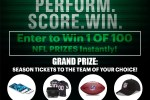 NFL Perform Score and Win Instant Win Game 2020