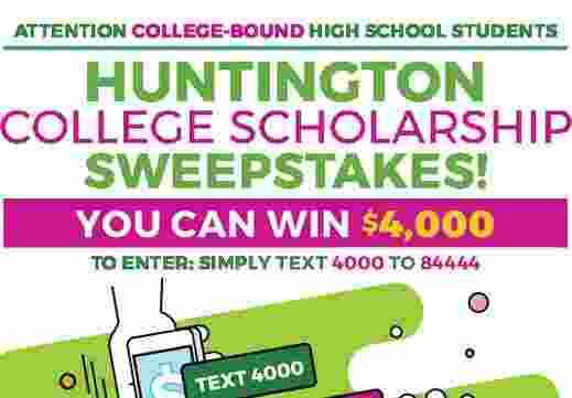 Huntington College Scholarship Contest