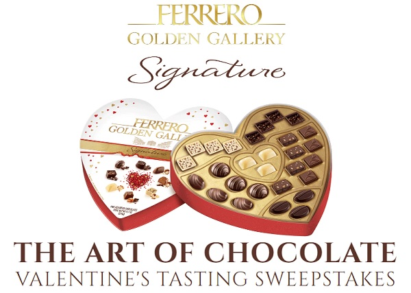 Golden Gallery Signature Valentine's Day Sweepstakes