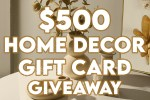 Improving Homes $500 Gift Card Giveaway