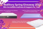 BedStory Spring Giveaway (6 Winners)