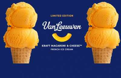 Kraft Mac & Cheese Ice Cream Sweepstakes