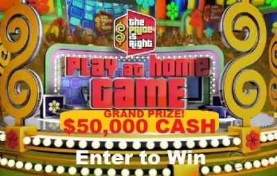 Price Is Right $50000 Cash Giveaway