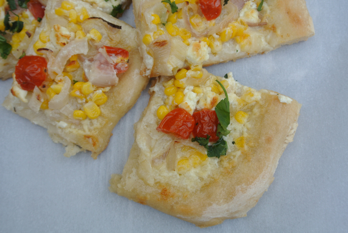 Foodie Friday- Creme Fraiche Pizza 3