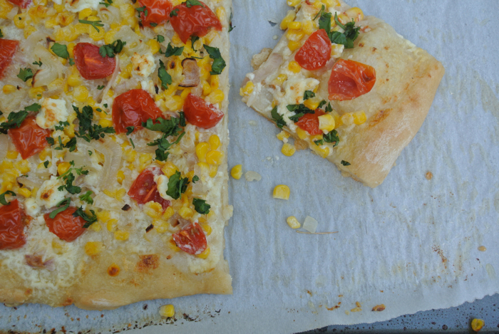 Foodie Friday- Creme Fraiche Pizza 8