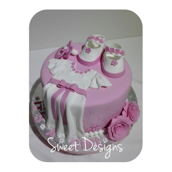 Baby Shower Cake for a girl