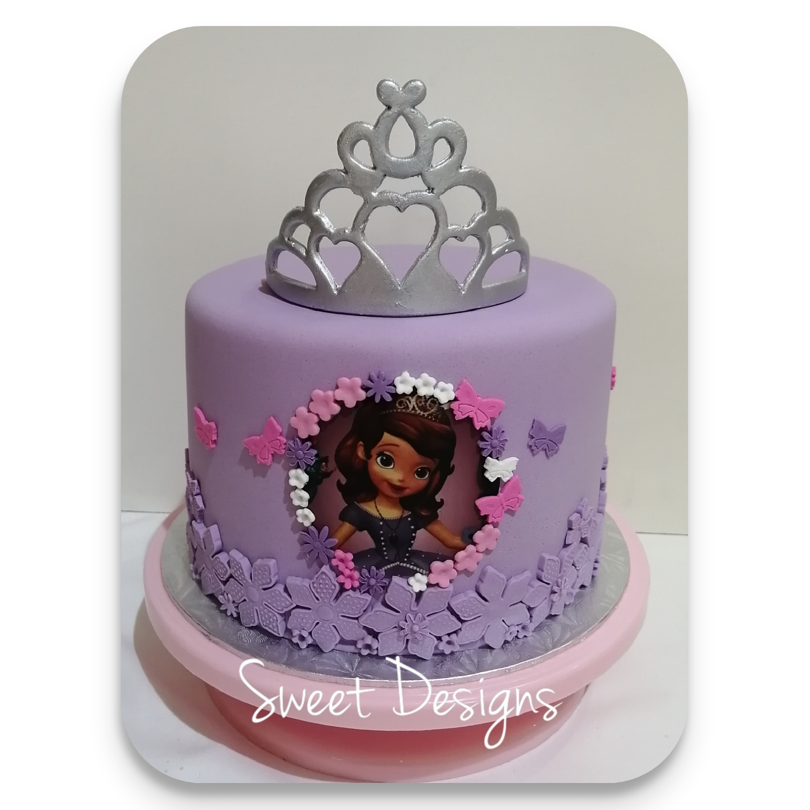 Princess Sofia Birthday Cake