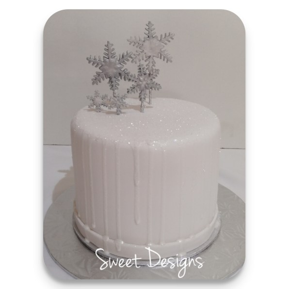 Winter Theme Cake