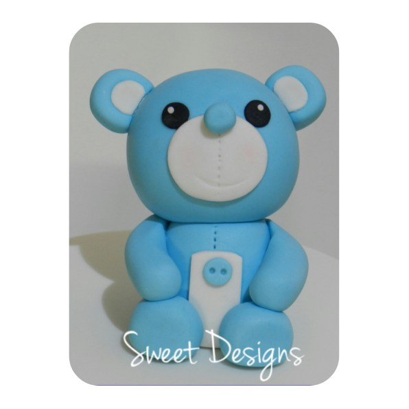Little Fondant Bear