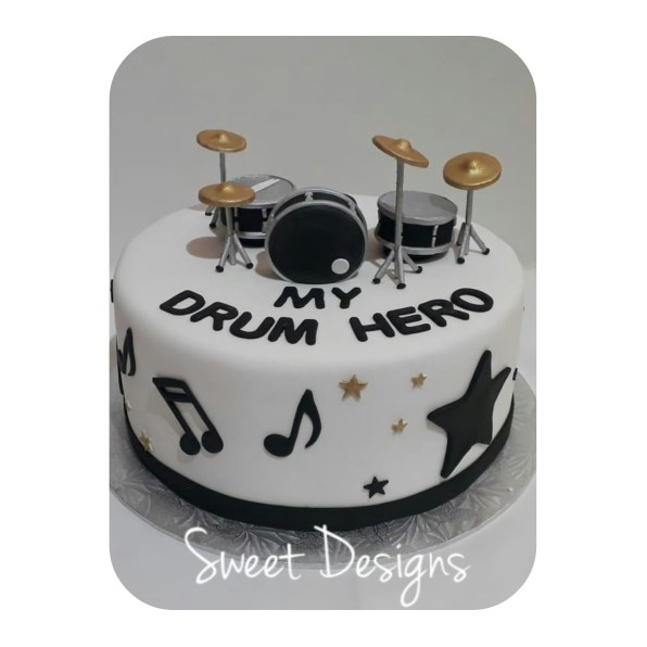 My Drum Hero Cake